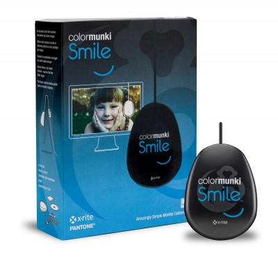 X-Rite Announces ColorMunki Smile