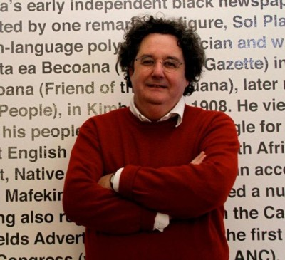 Award-winning author Anton Harber at GIPCA's Great Texts