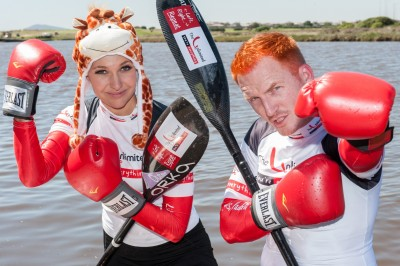 GINGER TAKES ON THE DUSI FOR CHARITY