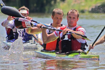 The Unlimited International paddlers impress in the Vaal Canoe Marathon