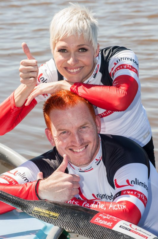 Sias-and-Liezel-all-set-for-the-2013-The-Unlimited-Dusi