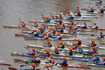 PADDLERS FEEL THE LOVE AT THE UNLIMITED DUSI