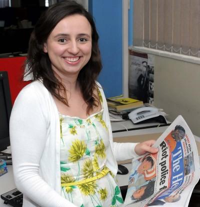 Award-winning journo is all business