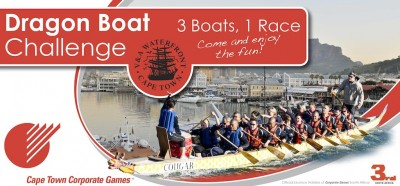 Dragon boat challenge – warming up for the corporate games