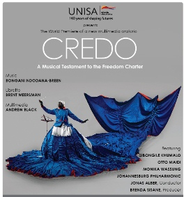 CREDO: A musical testament to the Freedom Charter