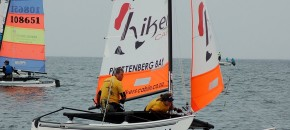 Knysna Yacht Club sailing pair triumphant at Boardwalk Hobie 16 Nationals