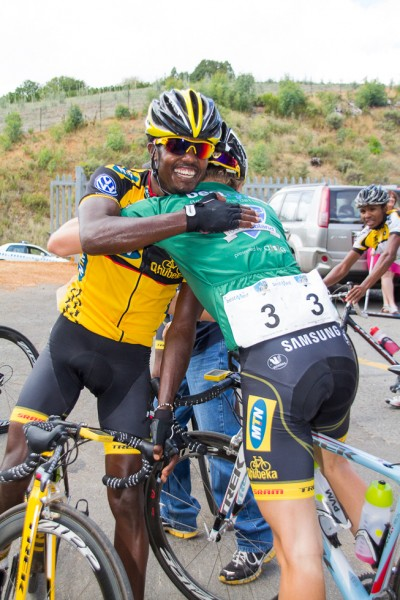 African riders shine at Tour de Boland