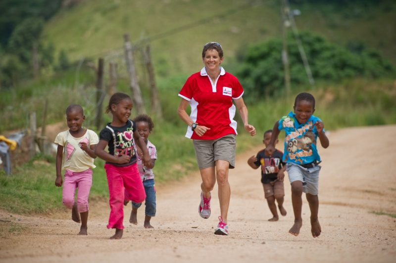Zola-with-kiddies-from-one-of-The-Unlimited-Child-creches-in-The-Valley-of-1000-Hills