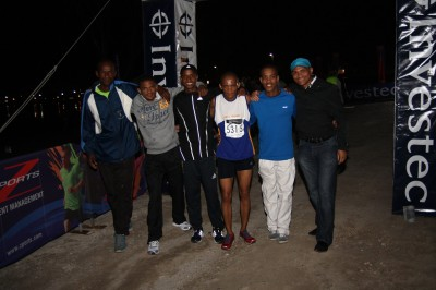 Records tumble at Investec Night Relay