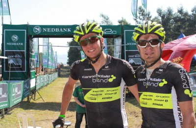 Keey and Lill claim first stage at sani2c