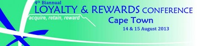 Acquiring Customers and maintaining Loyalty at the Loyalty & Rewards Conference 2013