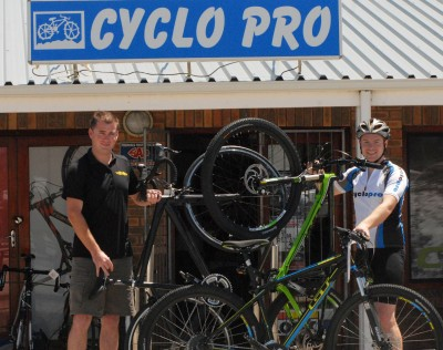 Cycle tour offers all round tech support