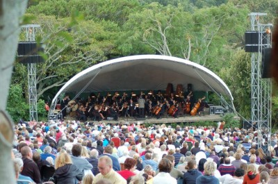 The Cape Philharmonic Orchestra plays Bruch at Kirstenbosch