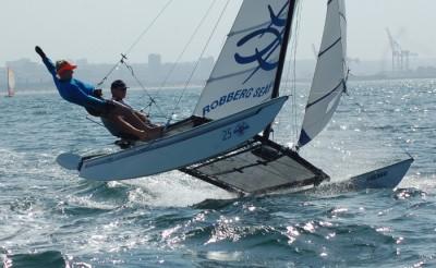 Plettenberg Bay Duo Clinch Boardwalk Hobie 16 Nationals Title
