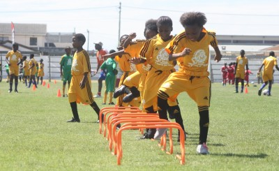 KICK-OFF FOR THE 2014 SPUR MASIDLALE SOCCER LEAGUE