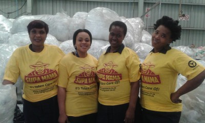 Helping a Mama out. How the humble refuse bag is feeding families.