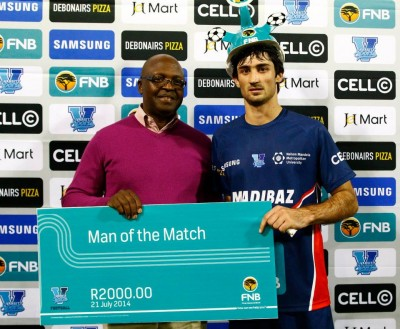 Madibaz captain named man of the match