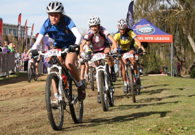 GREAT EXCITEMENT IN FIRST SPUR SCHOOL MTB LEAGUE RACE IN THE WESTERN CAPE