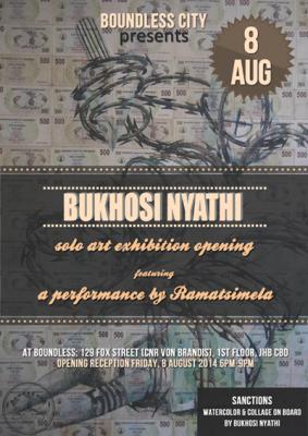 Bukhosi Nyathi Art Exhibition Press Release