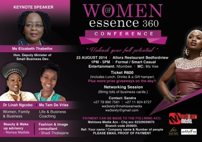 WOMEN OF ESSENCE CONFERENCE – Unleash your full potential