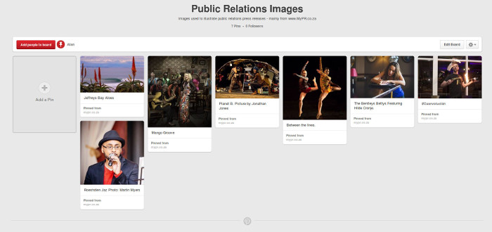 MyPR on Pinterest