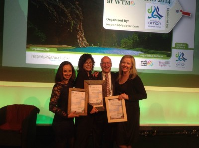 HOTEL VERDE receives World Responsible Tourism Award