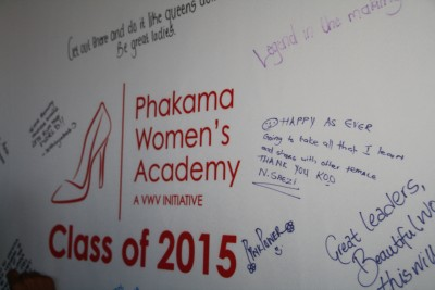 VWV Selects New Group of Students for Phakama Class of 2015
