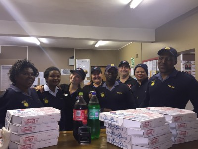 Domino's Pizza's friendly service and quality food warmly welcomed by the friendly city