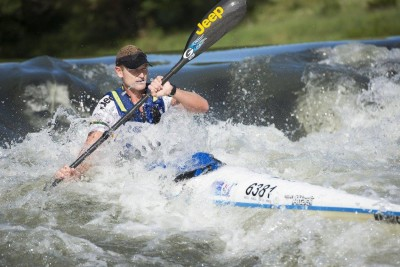 South Africa's Hank McGregor Claims 3rd at Molokai Surfski World Champs