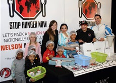 STOP HUNGER NOW SA AND CANAL WALK COMBINE FORCES TO FEED THE NEEDY