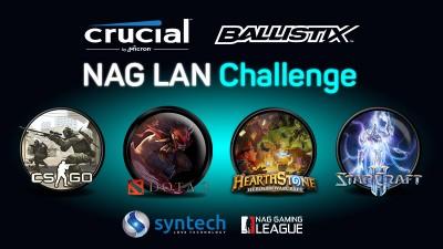 Crucial Ballistix NAG LAN Challenge announced for rAge