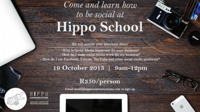HIPPO School – Social Media Workshop