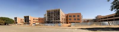 Nelson Mandela Children's Hospital building taking shape