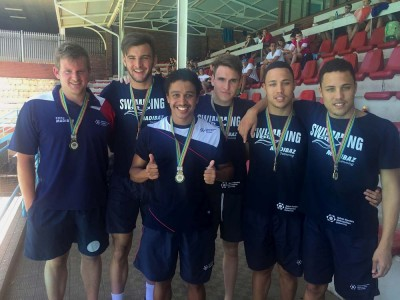 Madibaz swimmers grab medals at university champs