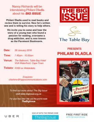The Big Issue Breakfast – Pavement Bookworm