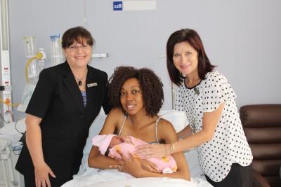 Baby born in car en route to Randburg hospital