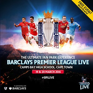 Barclays Premier League Live fan park