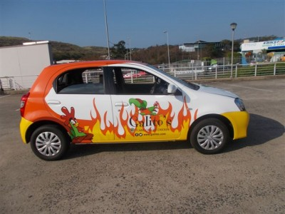 Graffiti sets Galitos Flame Grilled Chicken Brand on Fire With Striking New Wraps and Signage