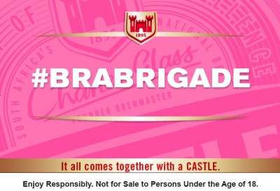 Castle Lager #BraBrigade Brings Men Together To Beat Breast Cancer