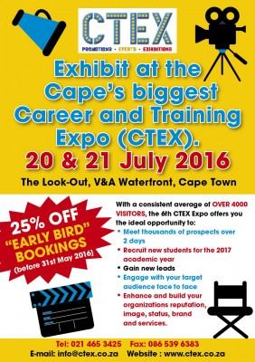 CTEX- Cape's Biggest Career Expo celebrates 6th Edition