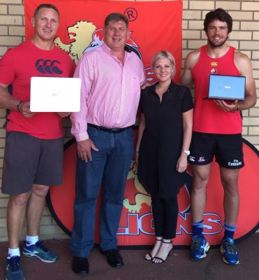 Golden Lions Rugby Union welcomes ASUS South Africa to the family