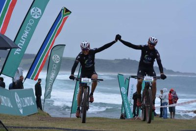 Combrinck first three-time joBerg2c champ
