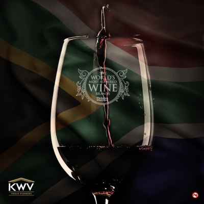 KWV Wines Ranked Highest SA Brand in 'World's Most Admired Wine Brands'