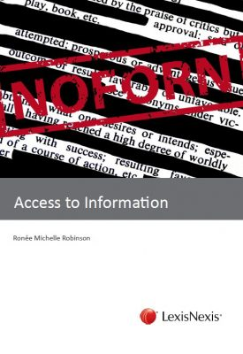 New book Access to Information launches