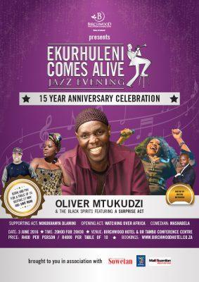 Oliver Mtukudzi to headline June Birchwood Jazz Festival