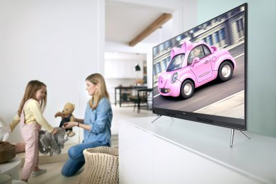 Samsung's New Televisions Beautifully Combine Technology and Aesthetics