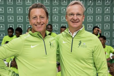 BREAKING NEWS – Nedbank CEO hosts race send-off for its top Comrades Marathon runners