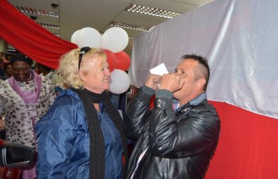 East London couple win two cars at local SPAR