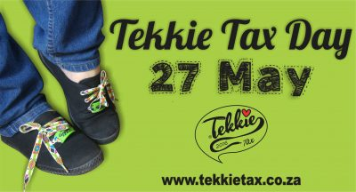 Warning! Tekkie Tax Day fever is in the air!