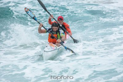 Jeep Team's Lewin amongst record-breakers at Scottburgh to Brighton Surfski race